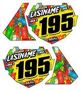 Box Gummy bear stand sticker website gra
