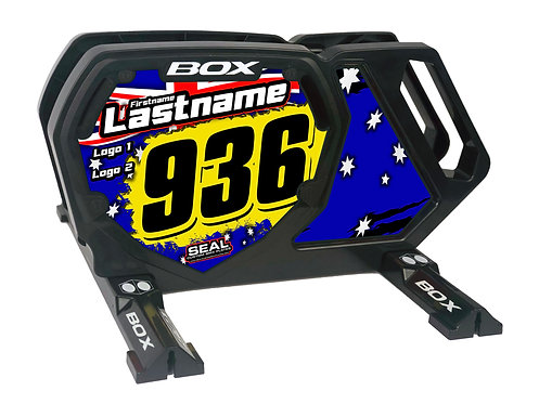Australia Flag - Box Components Bike Stand (Stand + Decals)