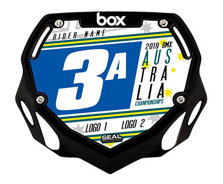 2019 Australian Titles Design White (Plate and Decal) - Box Components