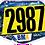 Thumbnail: BMX Australia Blue Ready 2 Race plate
