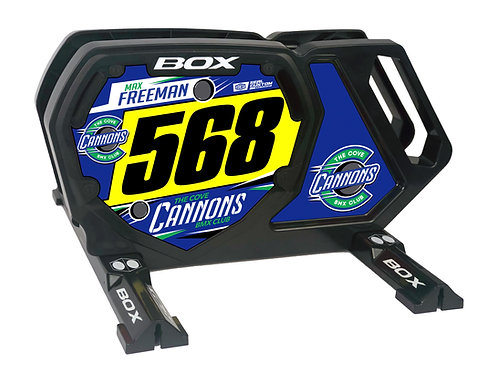 Cove Cannons - Box Components Bike Stand (Stand + Decals)