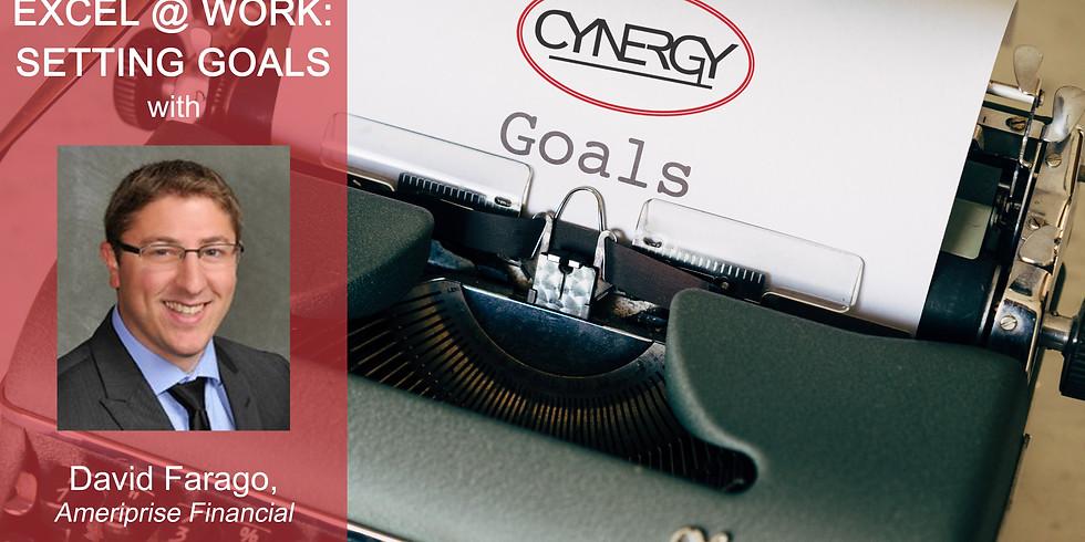 Excel @ Work: Setting Goals
