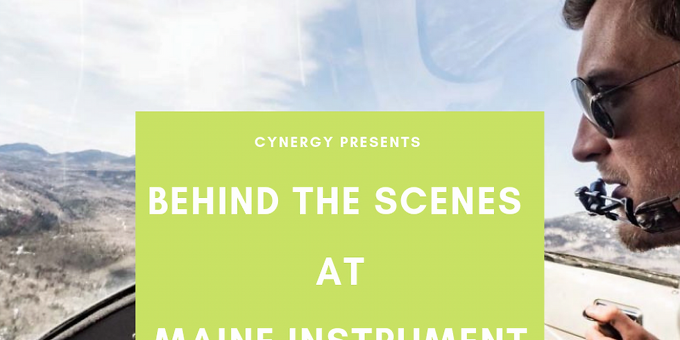 Behind The Scenes: Summer Sessions at Maine Instrument Flight