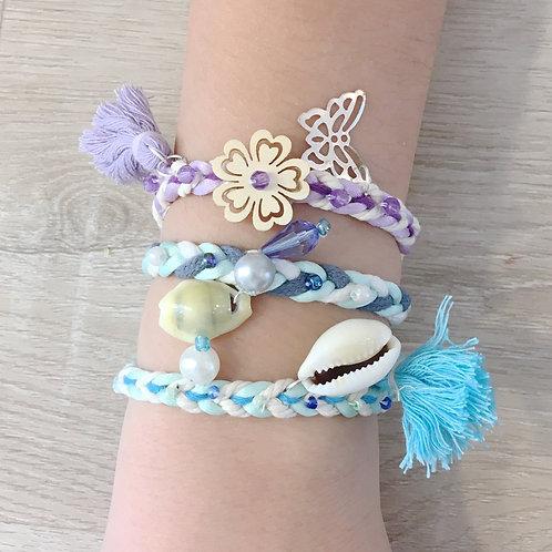 le bracelet tressé