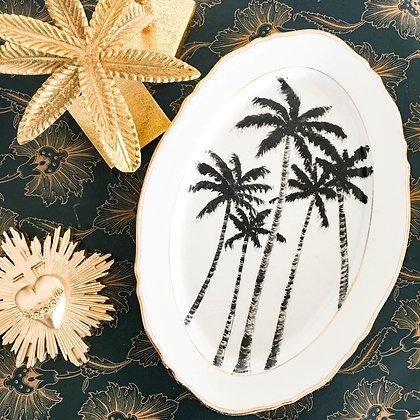 plat-ancien-peint-palmiers