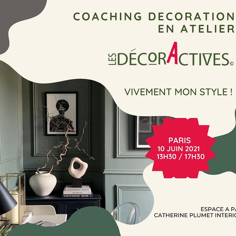 """Coaching décoration en atelier """"Les DécorActives"""""""