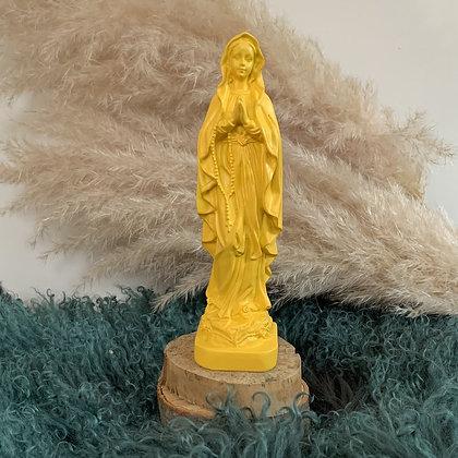 Statuette Marie aux couleurs du soleil - J'ai vu la Vierge - NEUF