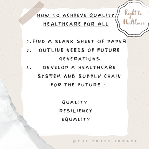 The Right to Healthcare: How to address inequality within this basic human right