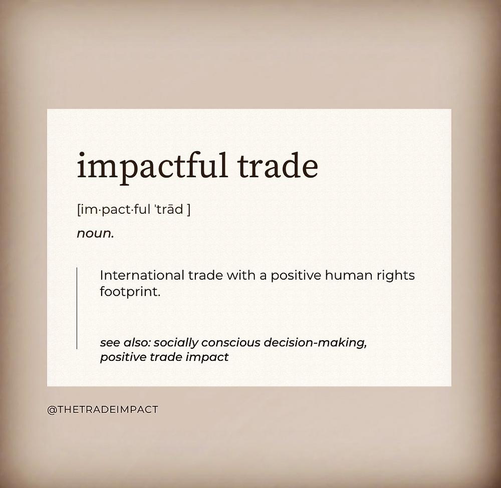 impactful trade definition