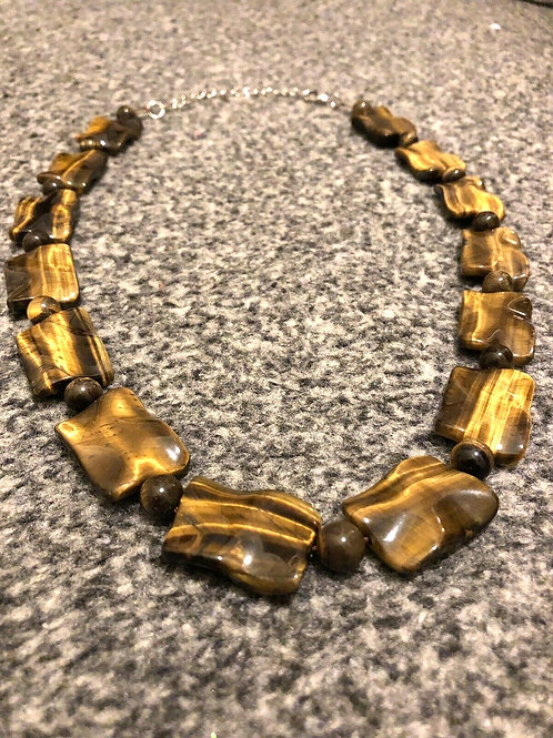 Tigers eye necklace women's jewellery collection sale