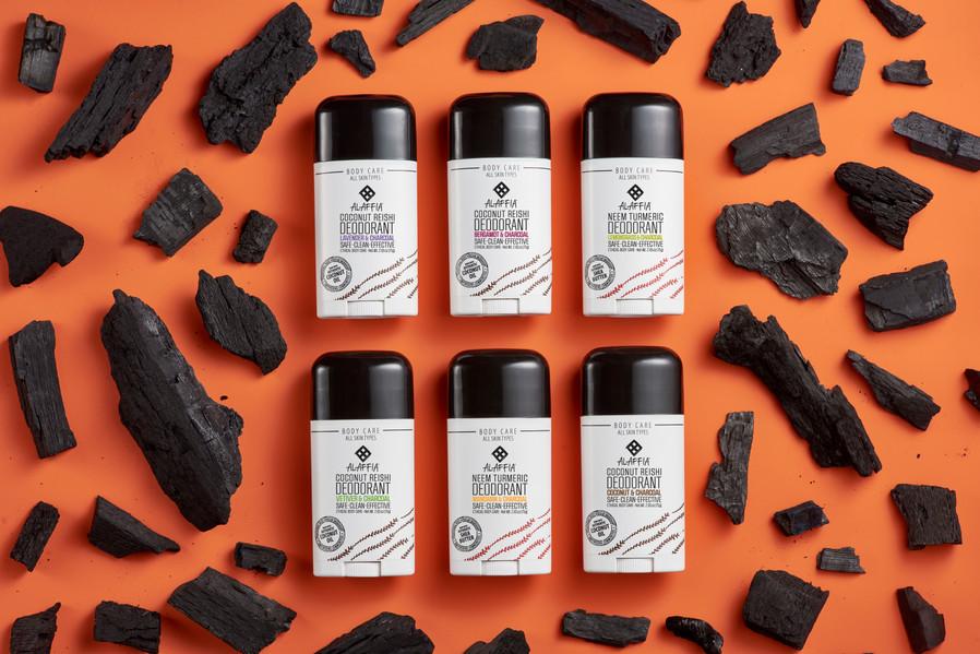 Alaffia Deodorant Collection