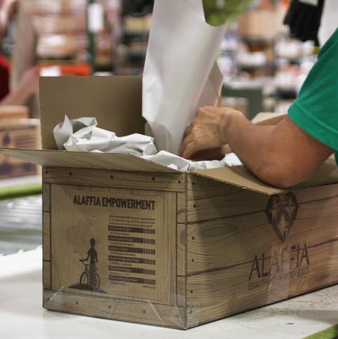 Alaffia Shipping Department