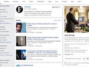 Wie bei Google: Auch Facebook zeigt jetzt Knowledge Panels aus Wikipedia an