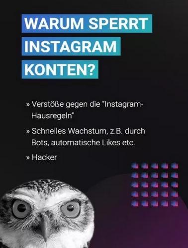 Blockierung aufheben instagram upammebee: How To