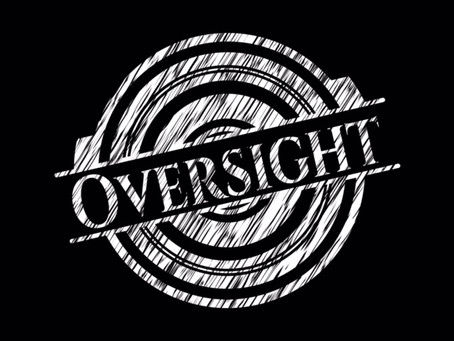 """Avoiding """"Oversight Light"""""""
