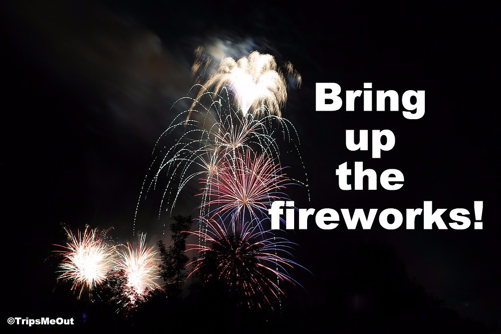 Bring up the fireworks!