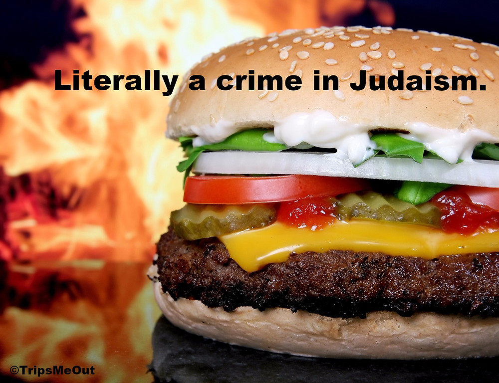 Literally a crime in Judaism.