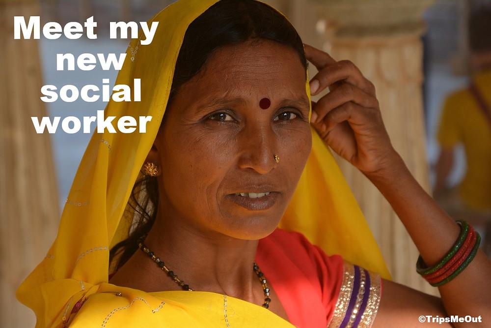 Meet my new social worker