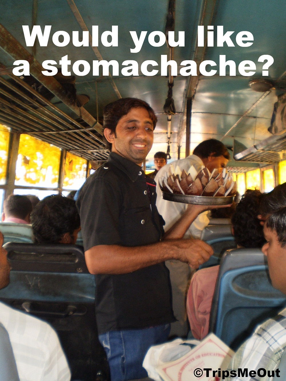 Would you like a stomachache?