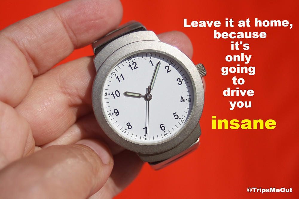 Leave it at home, because it's only going to drive you insane.