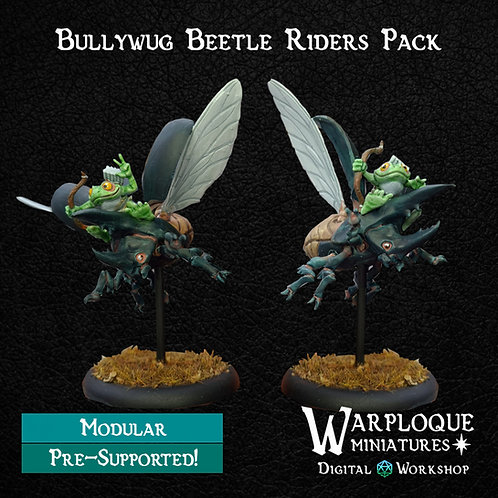 Bullywug Beetle Riders