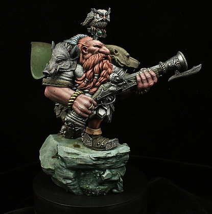 Dwarf Rifleman 54/75mm versions