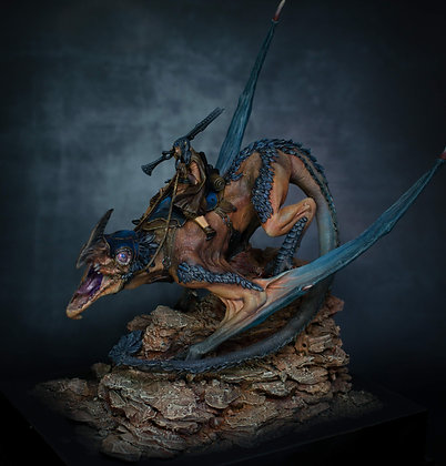 Elwin Luthais & Rymmaig, The Forest Dragon