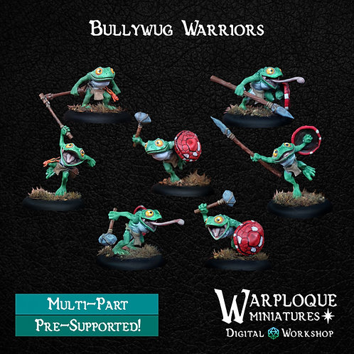 Bullywug Warriors