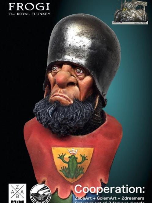 Frogi the Royal Flunkey