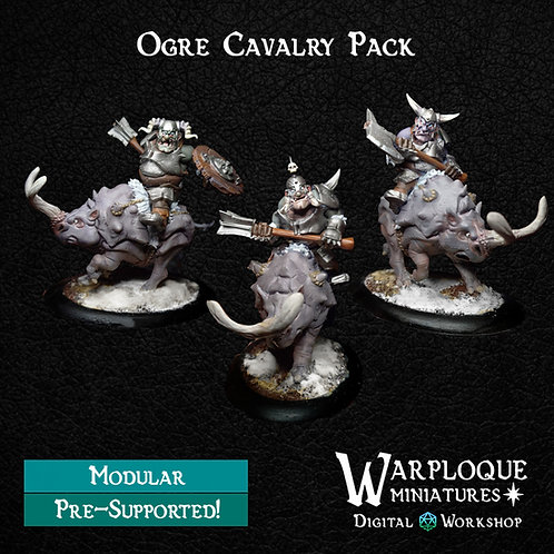 Mounted Armored Ogres