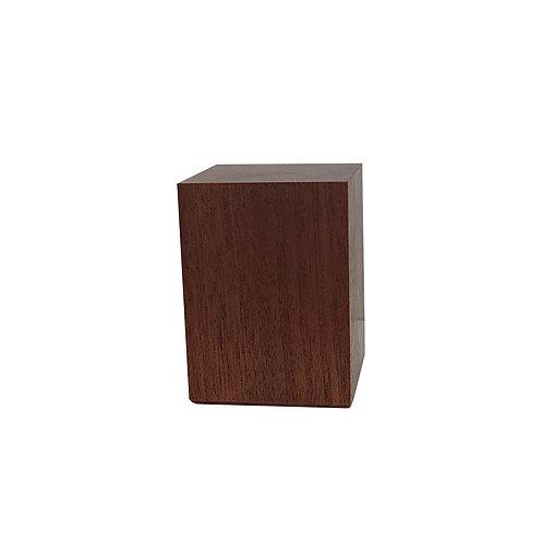 Mahogany Straight Plinth