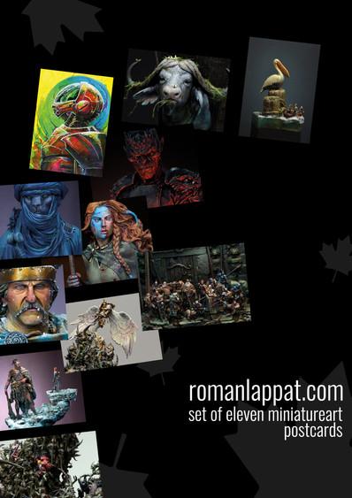 Roman Lappat Postcards