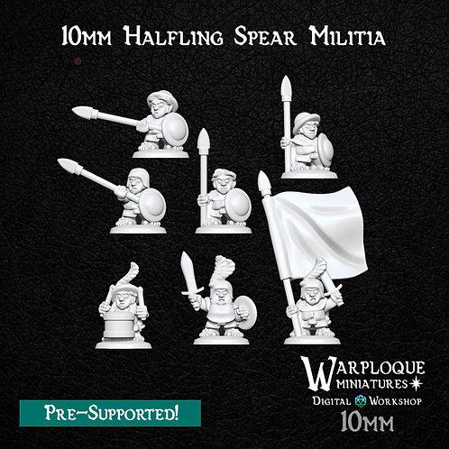 10mm Halfling Spearmen