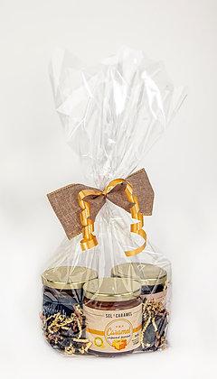 Emballage 3x 250ml (fleur de sel, café et choco)