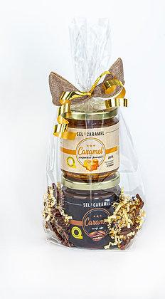 Emballage 2x 250ml (fleur de sel et café)