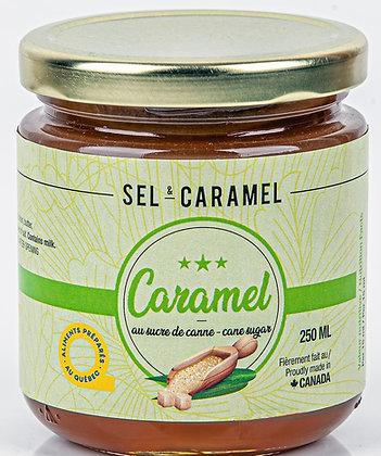 Caramel au sucre de canne 250 ml