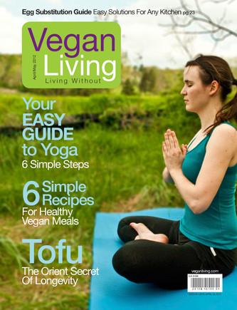 Vegan Living Cover
