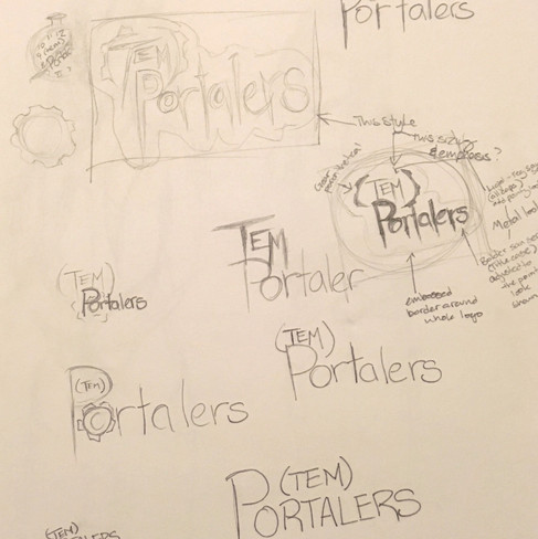 (Tem)Portalers Logo Sketches