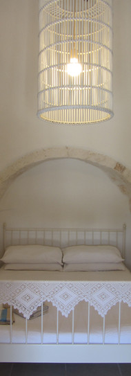 Trullo master bedroom