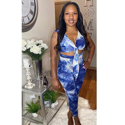 Miss Blue Jumpsuit