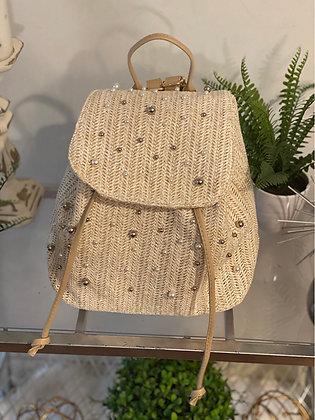Beaded Hat & Backpack