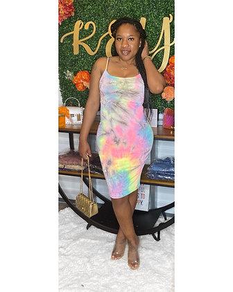 Miss Tie Dye Dress