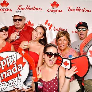 Tim Horton's Canada Day