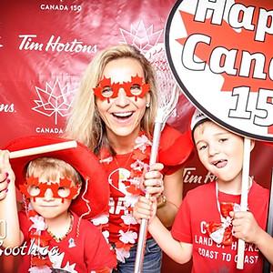 Tim Horton's Canada Day!