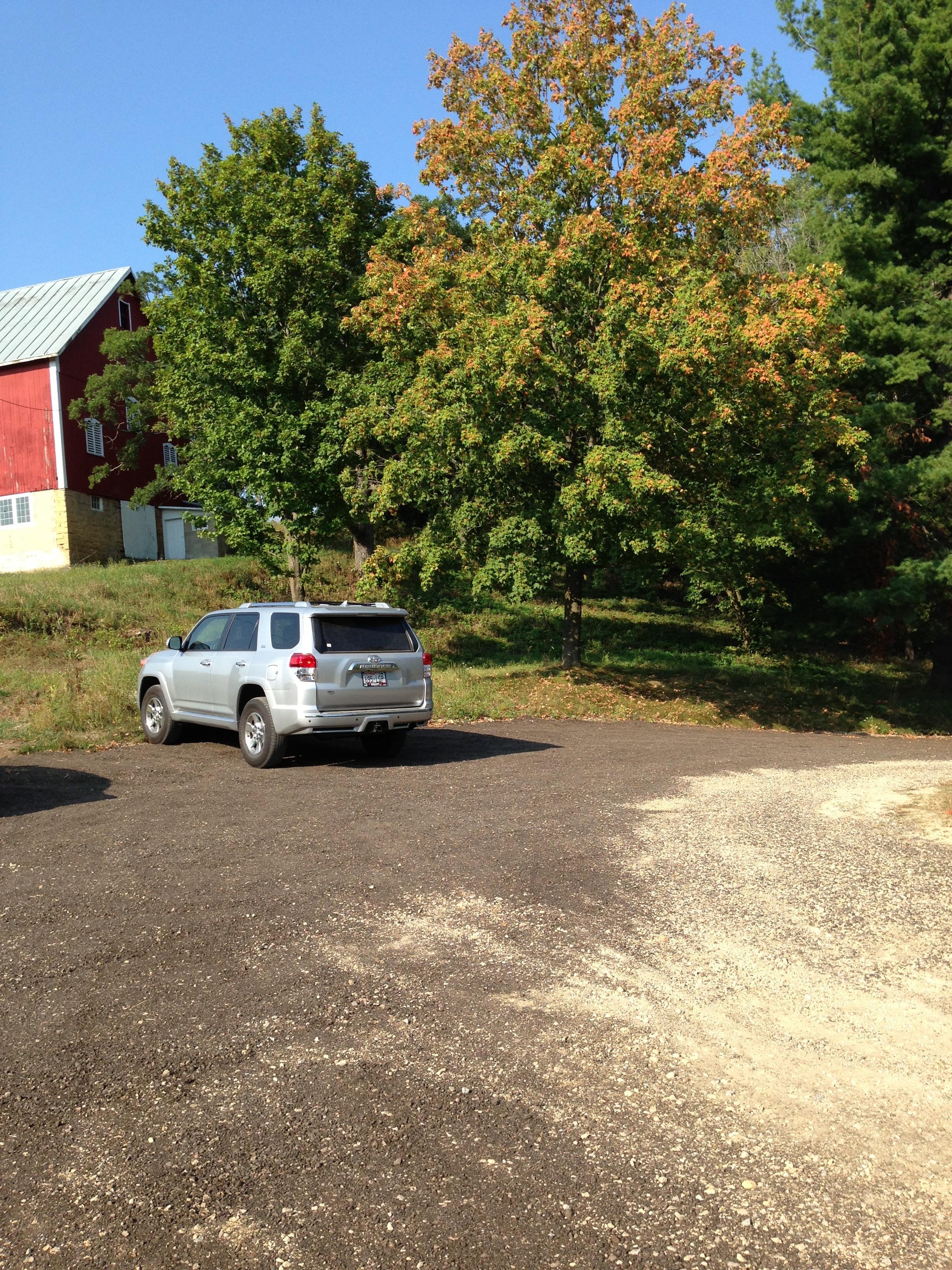 Student parking lot