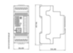 PLC CONTROLLINO MINI Dimensions