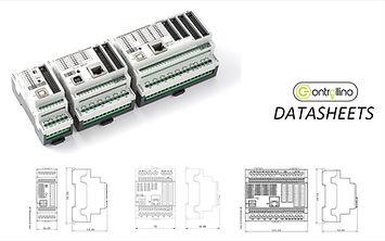 Datasheets for PLC CONTROLLINO MINI