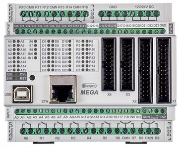 Top View of PLC CONTROLLINO MEGA