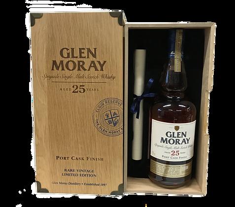 Glen Moray Port CaskFinish Aged 25 years