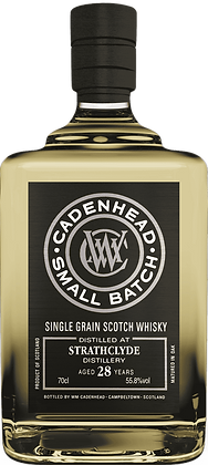 Cadenhead Small Batch Strathglyde 28 Year 1989 Grain Whisky